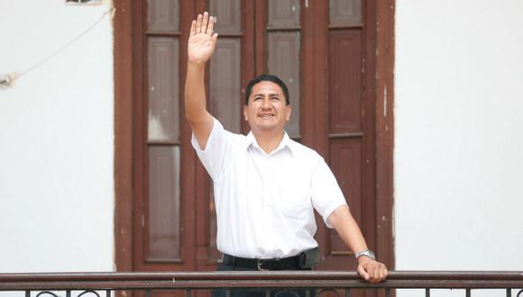 "Vladimir Cerrón llama a ""Llama a ""fortalecer el bloque antineoliberal"". (Percy Ramírez)"