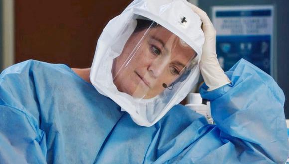 """¿Meredith logrará vencer al virus en los próximos episodios de """"Grey's Anatomy""""? (Foto: ABC)"""