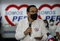Ningún exministro de Vizcarra integra lista de candidatos de Somos Perú al Congreso