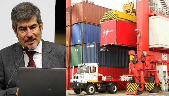 El ministro Valencia sostuvo que los acuerdos comerciales son herramientas útiles para protegerse de las turbulencias del comercio exterior global. (Foto: El Comercio)
