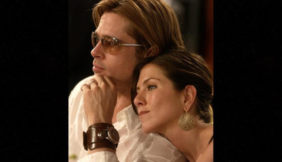 Brad Pitt y Jennifer Aniston habrían decidido reunirse en secreto en Londres. (AP)