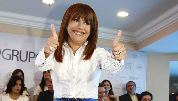 Magaly Medina volvería a la televisión peruana este año. (USI)