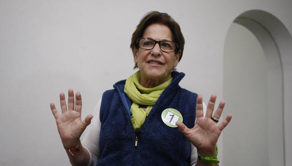 """""""En estos momentos no voy a responder"""", señaló Susana Villarán. (Foto: GEC)"""