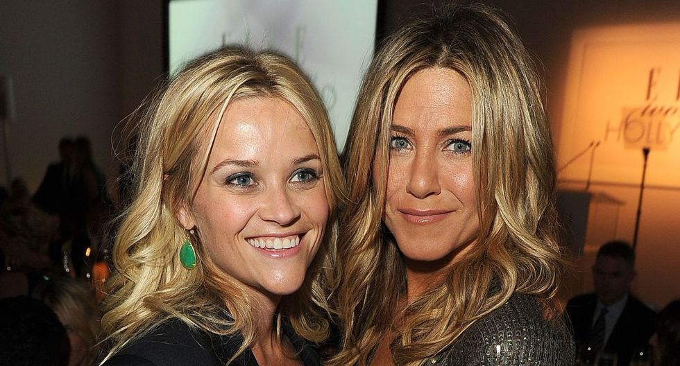 Jennifer Aniston y Reese Witherspoon protagonizarán 'The Morning Show', serie de Apple TV+. (Foto: AFP)