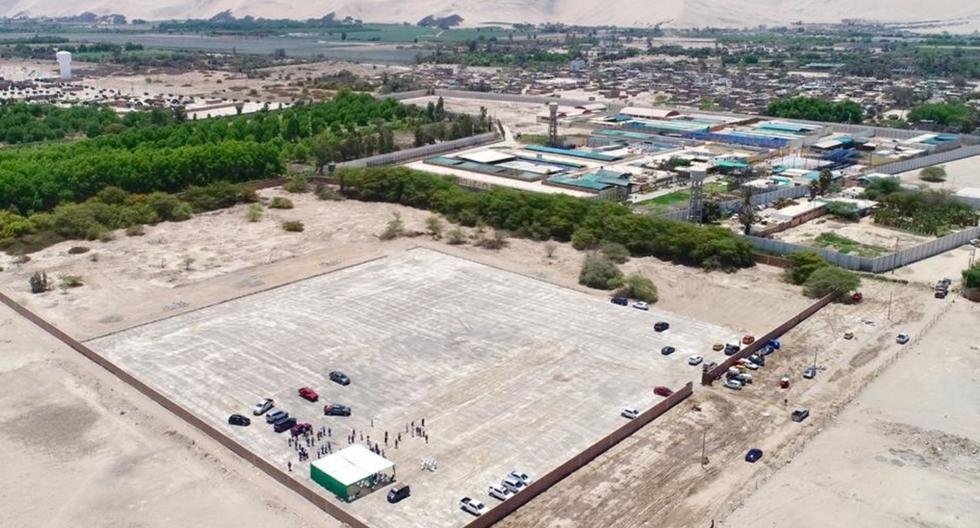 Gobierno Regional de Ica entrega terreno para construcción del primer hospital modular del país