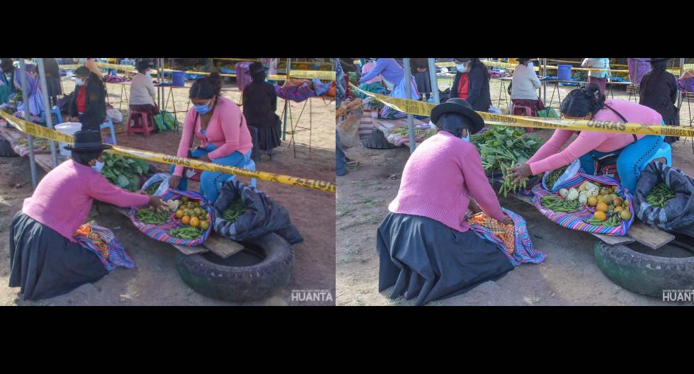 Ayacucho: Realizan primera 'Feria de Trueque'. (Foto: Municipalidad Provincial de Huanta)