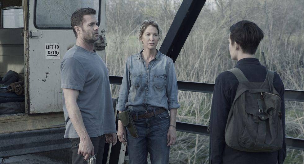 """AMC renueva su popular serie original """"Fear the Walking Dead"""" para su esperada quinta temporada. (Fotos: AMC)"""