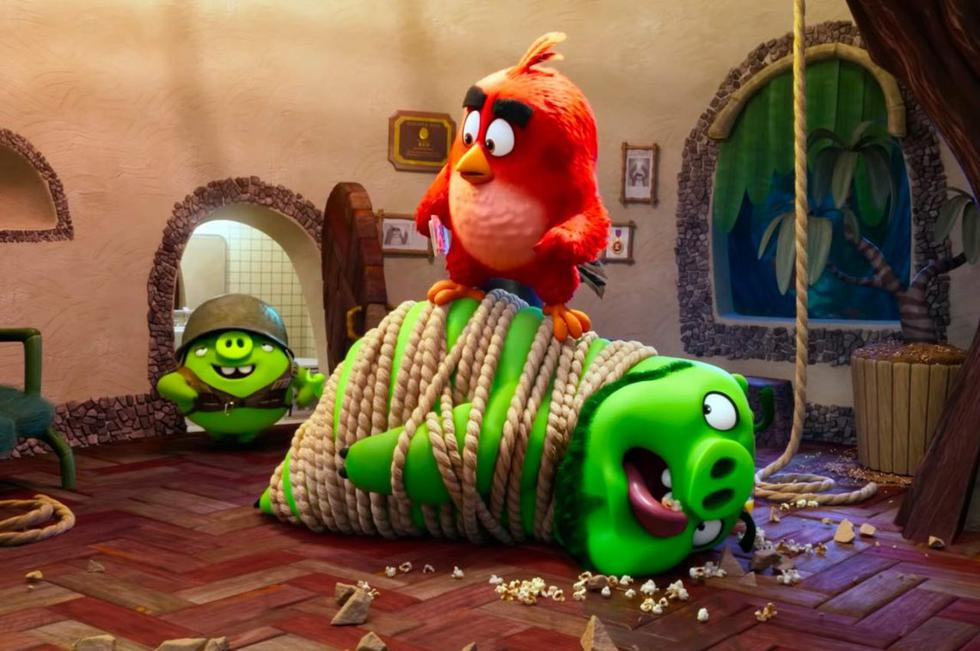 """La primera película de """"Angry Birds"""" logró recaudar 350 millones de dólares en todo el mundo.  (Fotos: Andes Films)"""