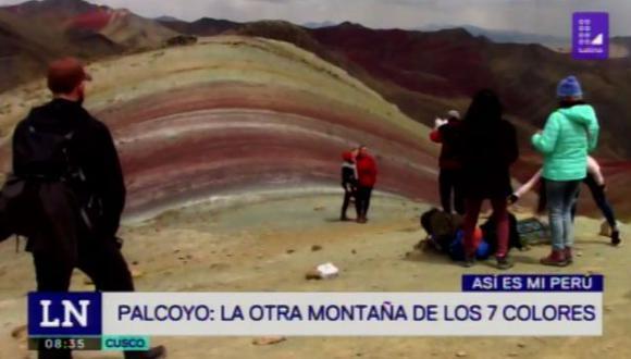 Aparece nueva montaña 7 colores. (Foto: Latina)