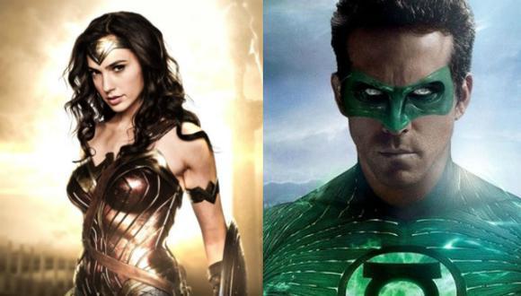'Wonder Woman' le ganó en un fin de semana a toda la taquilla de 'Linterna Verde' (Composición)
