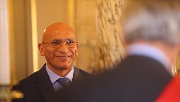 Waldo Mendoza asume la cartera de Economía durante el gobierno de transición. (Presidencia)