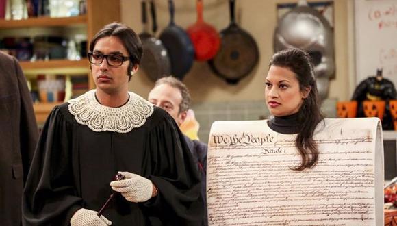 Los pintorescos disfraces que eligieron los personajes de The Big Bang Theory en su último Halloween (Foto: CBS)