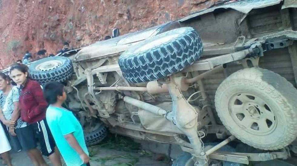 Accidente en Cajamarca
