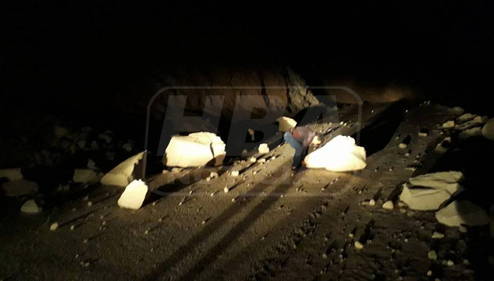 Fuerte sismo ha causado hasta el momento dos fallecidos. (HBA Noticias)