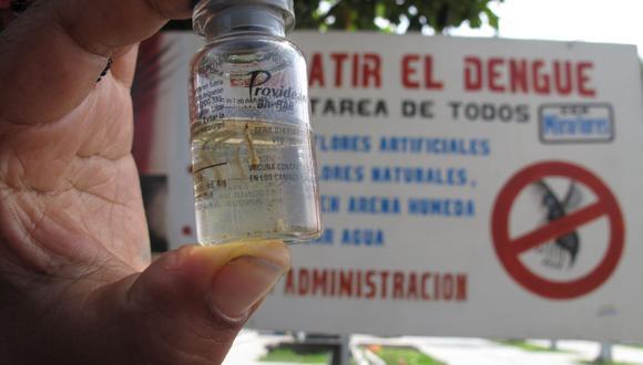Larvas del zancudo transmisor fueron halladas en cementerio piurano.