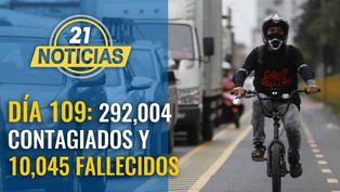 Cifra se eleva a 292,004 casos confirmados y 10,045 fallecidos