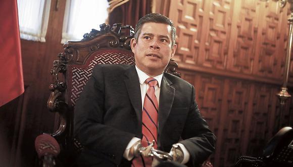 Luis Galarreta. Presidente del Congreso de la República. (Perú21)