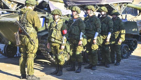 El ministro de Defensa ruso, Sergei Shoigu, indicó que había ordenado el regreso a sus bases de varias unidades que habían desplazado hacia Dombás. (Foto: Ministerio de Defensa de Rusia)
