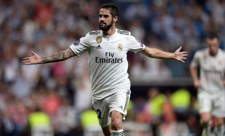 Isco hizo estallar el Santiago Bernabéu con este golazo a AS Roma. (Foto: AFP)