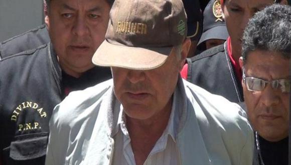 Fredy Carrera Escalante fue capturado tras un trabajo de Inteligencia de la Policía y la Interpol de España. (RPP)