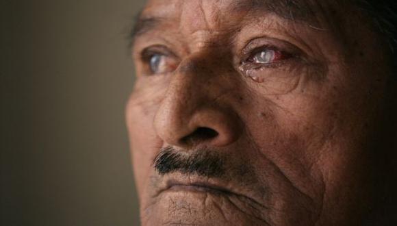 Félix Zapata ya no ve de un ojo. (David Vexelman)