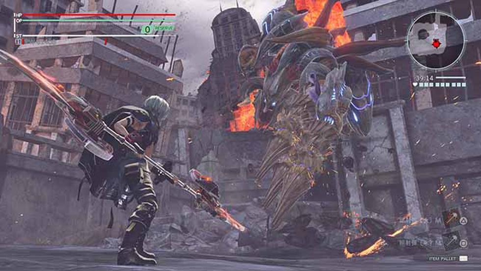 Bandai Namco dejó ver un nuevo material de God Eater 3, esta vez ingame.