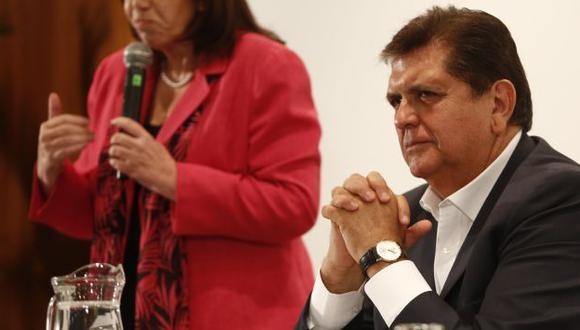 """Alan García señaló que no lo volvería a hacer porque a la """"población no lo quiere"""". (Perú21)"""