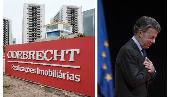 Odebrecht pagó US$3.6 millones a la campaña presidencial de Juan Manuel Santos y a Óscar Iván Zuluaga (AP/AFP).