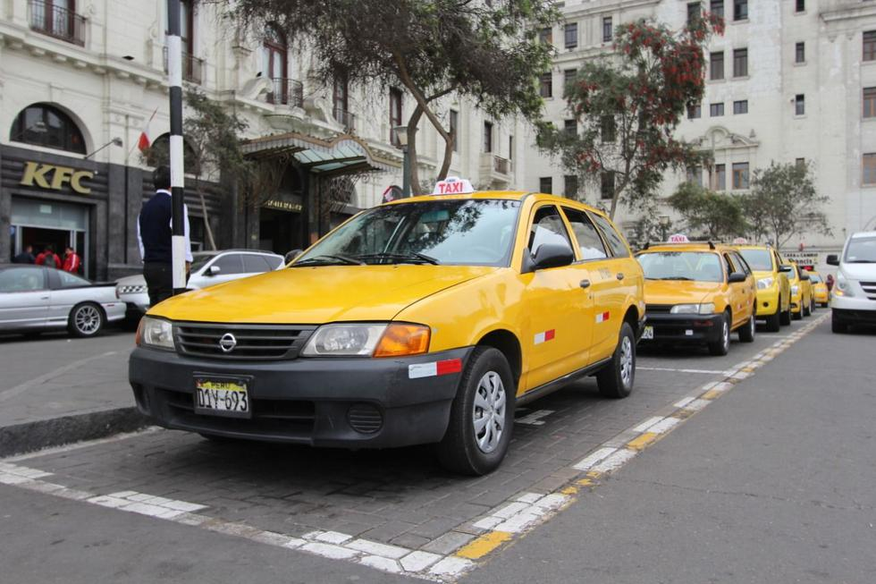 Municipalidad de Lima dispuso ampliar el plazo para pintado de taxis autorizados hasta el 31 de diciembre de este año. (Foto: MML)