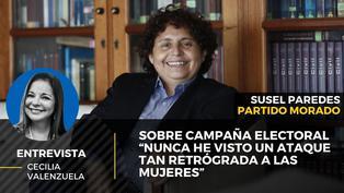 """Susel Paredes sobre campaña electoral: """"Nunca he visto un ataque tan retrógrada a las mujeres"""""""