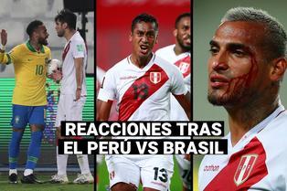 Perú vs. Brasil: Futbolistas de la selección se pronunciaron en redes sociales tras el partido