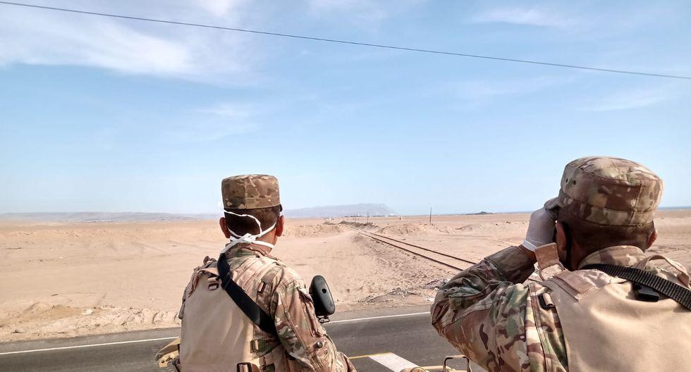 Perú refuerza vigilancia en frontera con Chile.