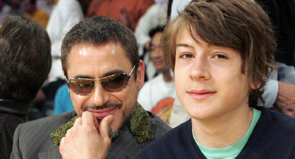 Indio, hijo del actor Robert Downey Jr., ingresó a rehabilitación. (Internet)