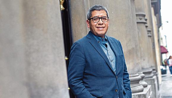 Iván Lanegra, secretario general de Transparencia. (Fernando Sangama/GEC)