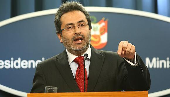 Juan Jiménez defendió legalidad de la reunión. (Rafael Cornejo)