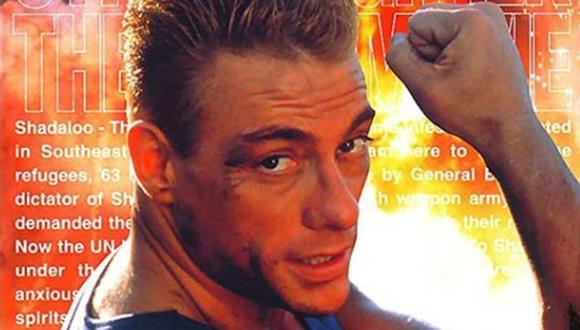 La estrella de 60 años desempeñó el rol de distractor (Foto: Jean-Claude Van Damme / Instagram)