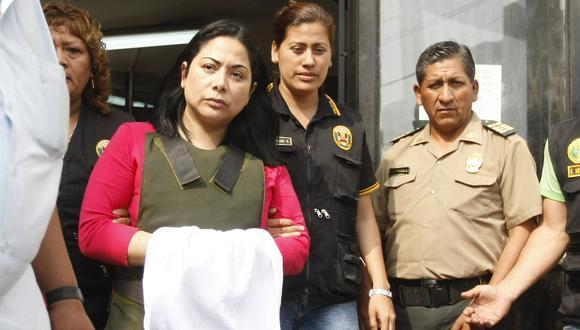 Ludith Orellana Rengifo, hermana de Rodolfo Orellana, fue condenada a 10 años de prisión efectiva. (Foto: GEC)