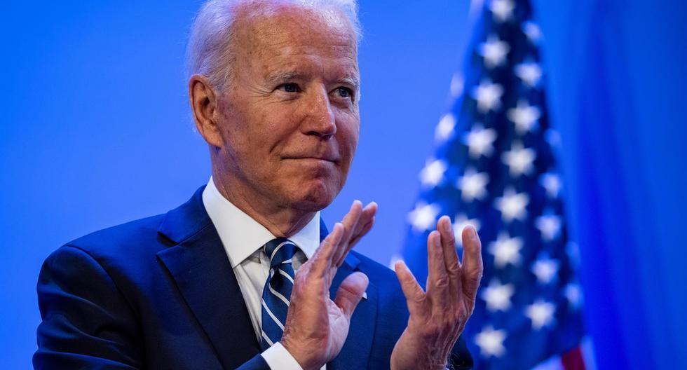 Imagen del presidente de Estados Unidos, Joe Biden. (EFE/EPA/Samuel Corum).