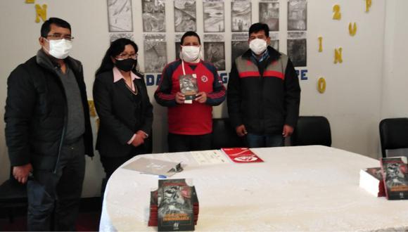 """Varias autoridades del penal asistieron a la presentación del libro  """"Una ciudad innombrable"""" (Foto: INPE)"""