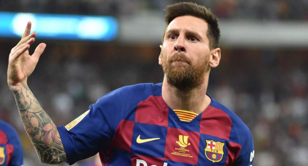 Quique Setién sufrió a Messi y ahora lo tendrá como principal figura. (Foto: AFP)