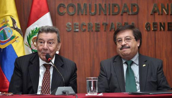 CRÍTICA DIPLOMÁTICA. Canciller cuestiona actitud de embajada. (Andina)