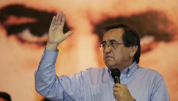 Del Castillo dice que Gobierno busca desprestigiar a su partido con ayuda de la DINI. (David Vexelman)