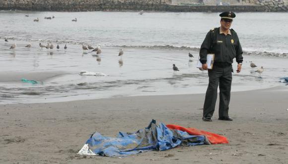 El cuerpo fue hallado en la playa Los Yuyos. (Referencial)