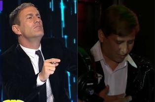 Mauri Stern reaccionó así cuando el imitador de Ricardo Montaner abandonó el escenario de 'Yo soy'