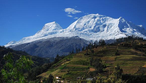 El Parque Nacional Huascarán será cuidado con ayuda de Estados Unidos. (AFP)