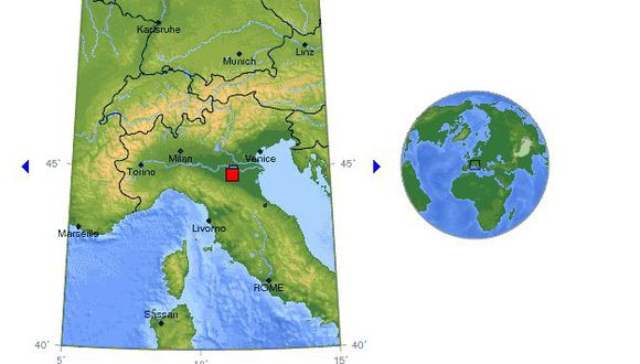Epicentro tuvo una profundidad de 10 kilómetros. (USGS)