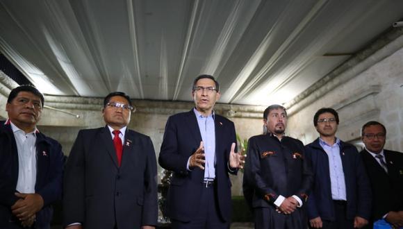El presidente de la República viajó a Arequipa para dialogar con las autoridades por el proyecto Tía María. (Foto: Presidencia / Video: Canal N)