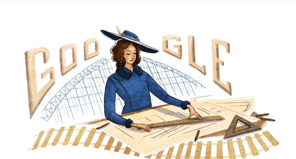 Le rinden homenaje a la  ingeniera chilena Justicia Espada Acuña con un doodle. (Foto: Google)