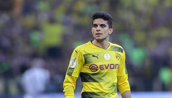 Marc Bartra llegó al Borussia Dortmund procedente del Barcelona. (Gettyimages)