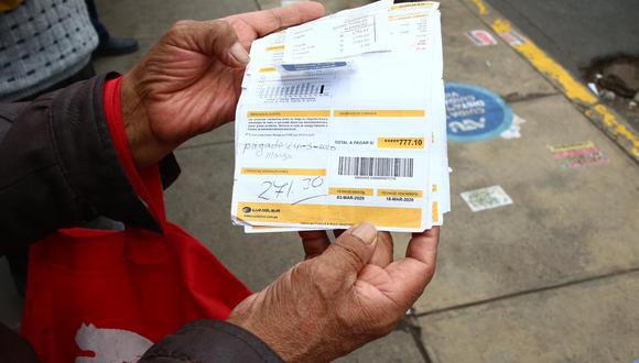 La empresa informó que en la mayoría de los casos los recibos sí se emitieron correctamente. (Foto: GEC)